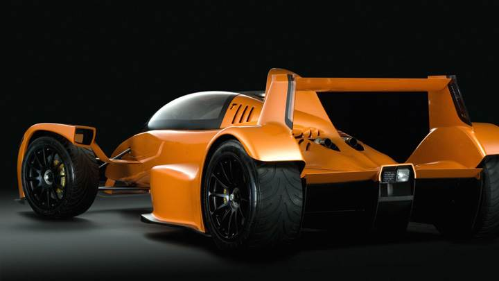Side Back Pose Of World's Fastest Supercar Caparo T1